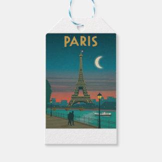 Eiffel Tower Vintage Paris Geschenkanhänger