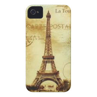 Eiffel Tower Vintage Paris iPhone 4 Hüllen