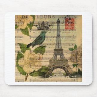 Eiffel Tower Vintage Paris Mauspad