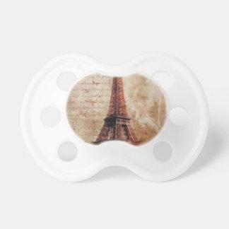 Eiffel Tower Vintage Paris Schnuller