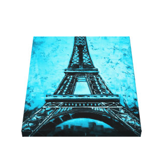 Eiffel-Turm Paris Frankreich wickelte Leinwanddruck