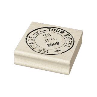 Eiffel-Turm-Poststempel-Gummikunst-Briefmarke 1909 Gummistempel