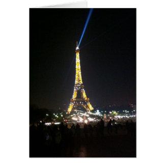 Eiffel-Umdrehung Karte