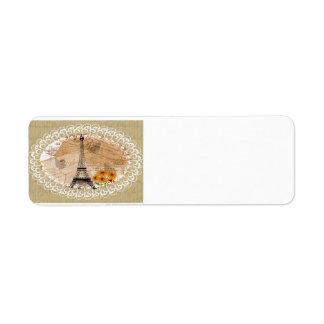 Eiffelturm-Franzose-Postkarten