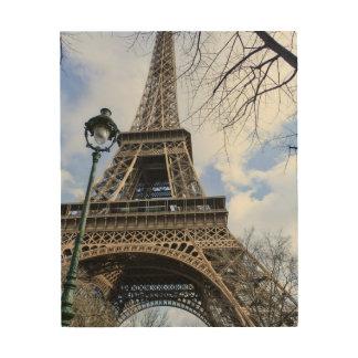 Eiffelturm im Frühjahr Holzdrucke
