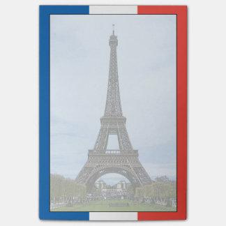 Eiffelturm, Paris, Frankreich Post-it Haftnotiz