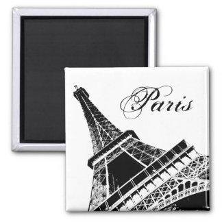 Eiffelturm-Paris-Magnet Quadratischer Magnet