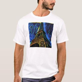 Eiffelturm-Regen T-Shirt