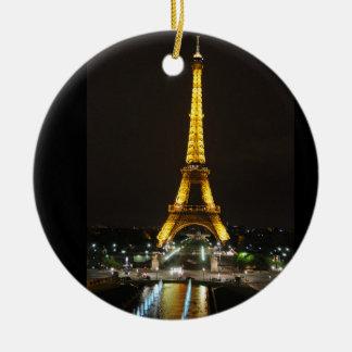 Eiffelturm-Verzierung Keramik Ornament