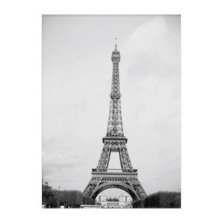 Eiffelturm-Wand-Kunst Acryldruck