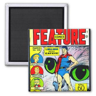 Eigenschafts-Comicen #108 Quadratischer Magnet