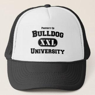 Eigentum der Bulldoggen-Universität Truckerkappe