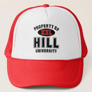 Eigentum der Hügel-Universität Truckerkappe