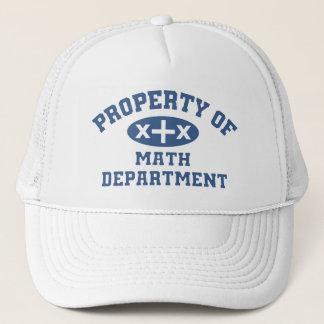 Eigentum der Mathe-Abteilung Truckerkappe