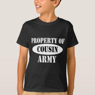 Eigentum des Armee-Cousins T-Shirt