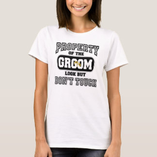 Eigentum des Bräutigams T-Shirt