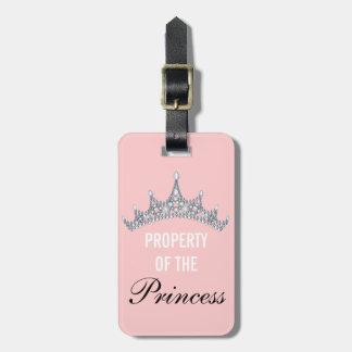 Eigentum des Gepäckanhängers Prinzessin-Tiara Koffer Anhänger