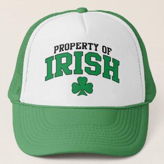 Eigentum des irischen T-Shirts Truckerkappe