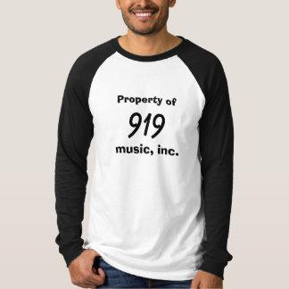 Eigentum von, 919, Musik, Inc. T-Shirt