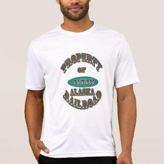 Eigentum von Alaska Eisenbahn-Version 2 T-Shirt