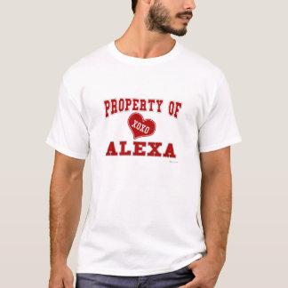 Eigentum von Alexa T-Shirt