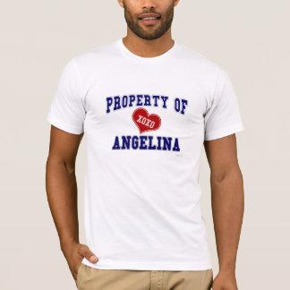 Eigentum von Angelina T-Shirt