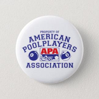 Eigentum von APA Runder Button 5,1 Cm