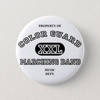 Eigentum von Colorguard Runder Button 5,1 Cm