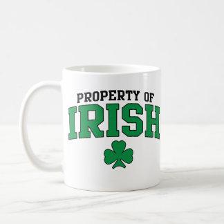 Eigentum von Iren Kaffeetasse