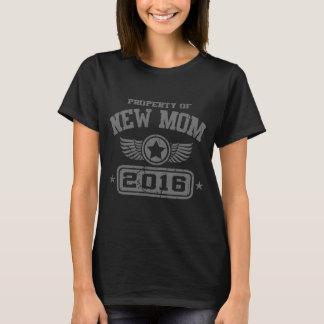 Eigentum von junger Mutter 2016 T-Shirt