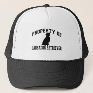 Eigentum von Labrador retriever Truckerkappe