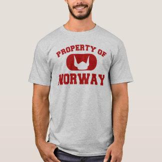 Eigentum von Norwegen-Entwurf T-Shirt