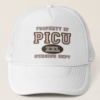 Eigentum von PICU, das Truckerkappe