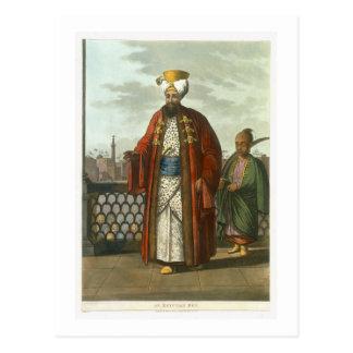 """Ein ägyptischer Bey, überziehen 41 """"von den Postkarte"""