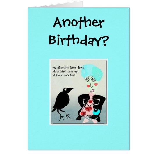 Ein anderer Geburtstag? Grußkarte