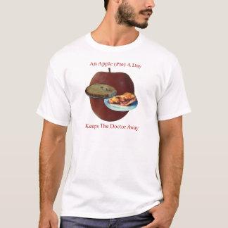 Ein Apple (Torte) ein T - Shirt der Tagesmänner