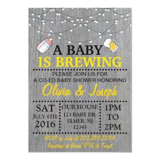 EIN BABY BRAUT Babyparty-Einladung Karte
