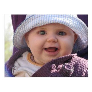 Ein Baby Kind Postkarte