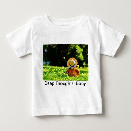 Ein Bär im Gedanken Baby T-shirt