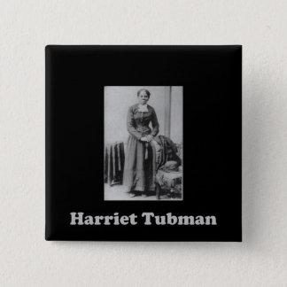 Ein Bild von Harriet Tubman Quadratischer Button 5,1 Cm