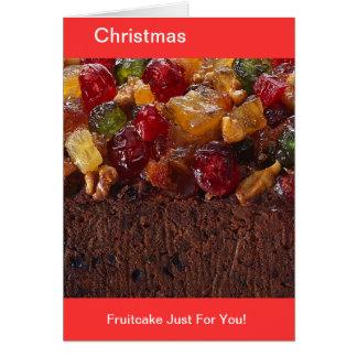 Ein bisschen fruchtiger Fruchtkuchen Karte