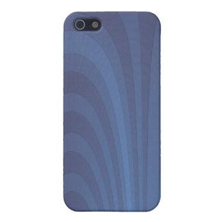 Ein Brunnen des Blaus iPhone 5 Hüllen