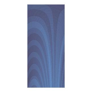 Ein Brunnen des Blaus Werbekarte