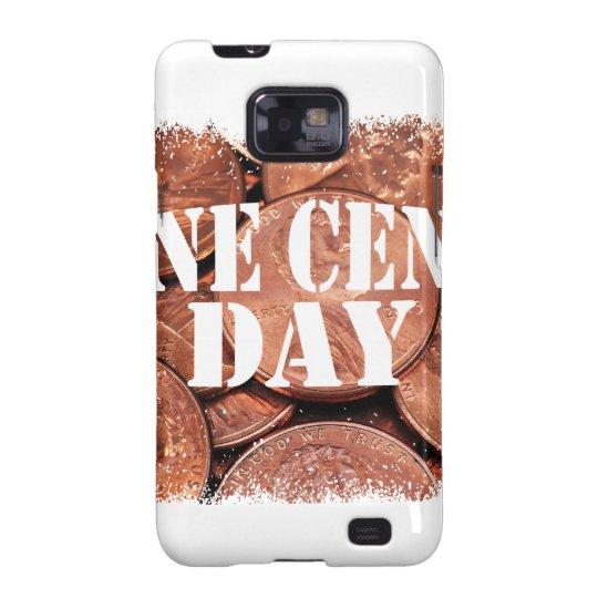 Ein Cent-Tag Samsung Galaxy SII Hülle
