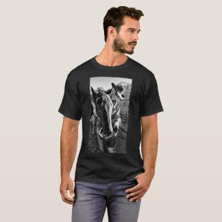 Ein Cowboy und sein Pferd T-Shirt