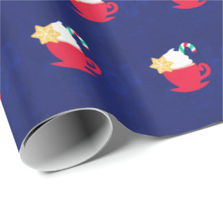 Ein Cup von 'Tis die Jahreszeit Einpackpapier