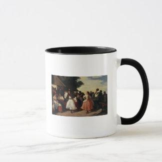 Ein Dorf-Hochzeits-Fest Tasse