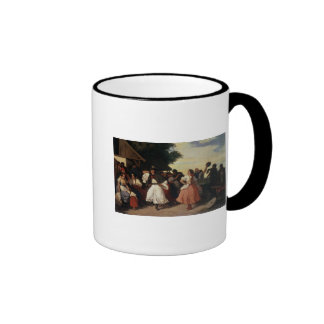 Ein Dorf-Hochzeits-Fest Kaffeetasse