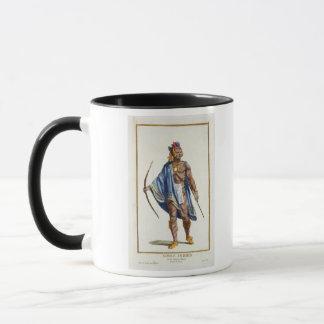 Ein edler Inder von der Ottawa-Nation, 1780 (colou Tasse