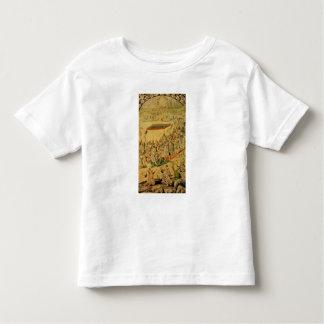 Ein eines Paares Platten Kleinkinder T-shirt